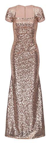 JU FASHION Abendkleid KATIE, champagner Champagner