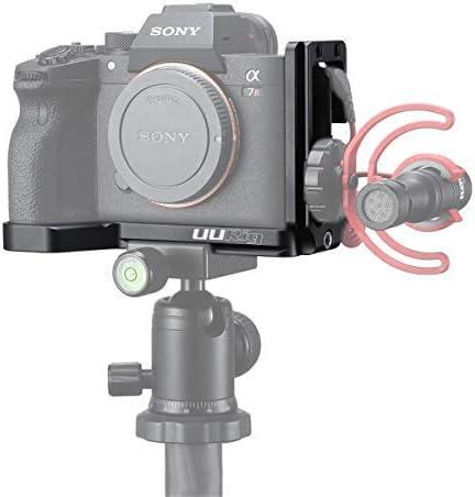 UURig L型ブラケット Sony A7R4に対応 クイックリリースプレート