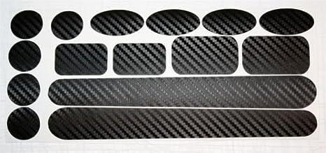 Ellis Graphix - Protectores de fibra de carbono para cuadro y ...