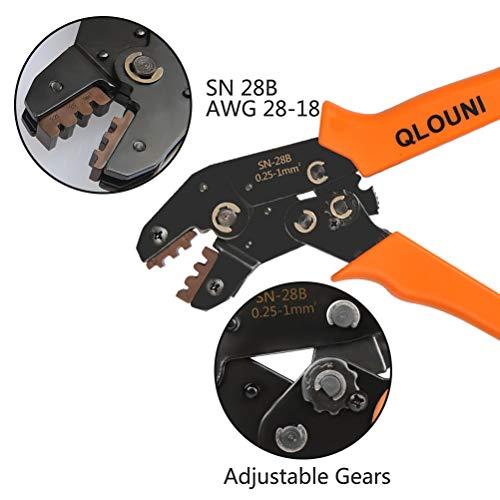 QLOUNI 620Pcs 2.54mm Pitch JST SM 1 2 3 4 5 6 Pin Housing Connector Dupont Male