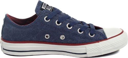 Converse Ct Bas Wash Ox 287140-55-63 - Zapatillas de tela unisex Azul