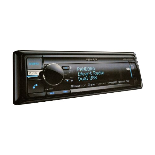Kenwood KDC-BT858U In-Dash 1-DIN CD/MP3 Receiver with - Player Cd Kenwood Indash