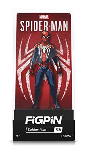 (FiGPiN Marvel's Spider-Man - Collectible Pin with Premium Display Case)