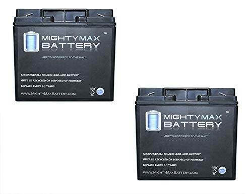 2V 18AH F2 SLA Replacement Battery for Power Sonic PS-12180-2 Pack brand product ()