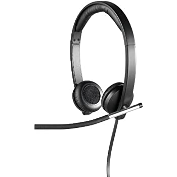 d78023bf5c9 Amazon.com: Logitech USB Headset H340, Stereo, USB Headset for ...