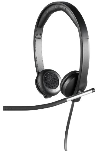 Logitech USB Headset Stereo H650e (Business Product), Corded Double-Ear Headset
