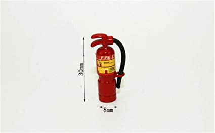 1:12 Scale Red Fire Extinguisher Dolls House Miniature Accessories HI
