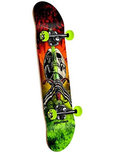 Powell-Peralta Skull & Sword Storm Complete Skateboard, Red