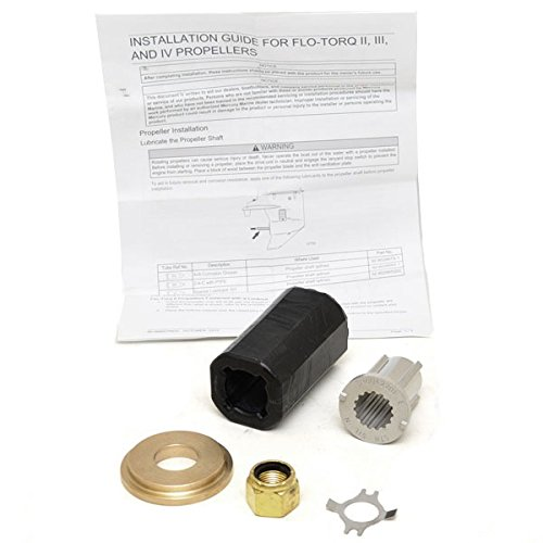 Outboard 40 Hp Parts Manual (Mercury Outboards Flo-Torq II Hub Kit 835257K 1)