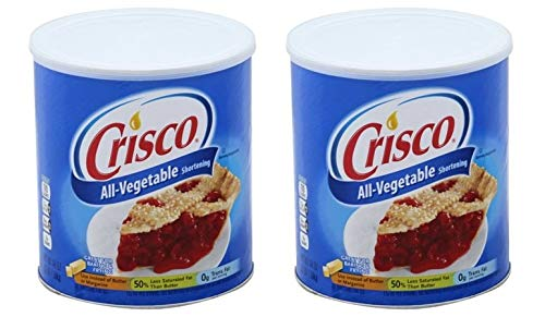 Crisco Vegetable Shortening, 48 fl oz (Pack of 2) by by Crisco