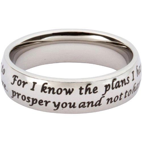 Scripture Ring Jeremiah 29:11