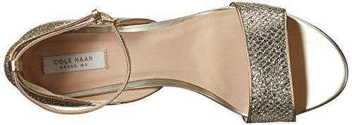 Cole Women's Sandal Grand Haan Gold Silver Grace Glitter fxrfaq