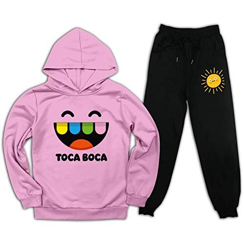 Toca Boca Pullover Hoodies en Joggingbroek Pak voor Kids Mode Sweatshirt Set 2 Stuk Outfit Jongens Meisjes Lange Mouwen