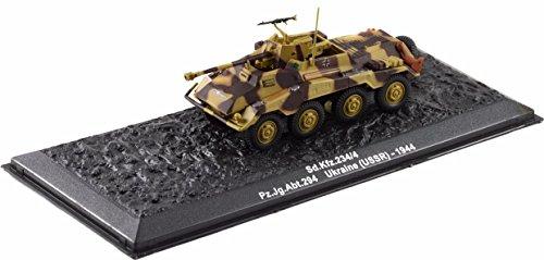 Deagostini 1:72 Diecast Model Tank - SD KFZ 234/4 PZ JG ABT 294 Ukraine USSR 1944 Army Tank #48