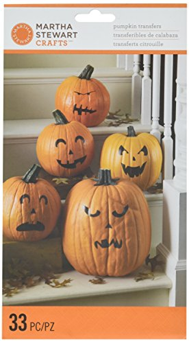 Martha Stewart Crafts Classic Halloween Pumpkin Transfers ()