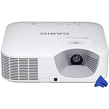 Casio XJ-V110W LED WXGA Projector + PSC Lens Cloth (3,500 Lumens)