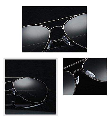 B gafas de de Cuadrados sol libre Vintage deportes gafas OverDose Mujeres aire Hombres al espejo ZqX66Y