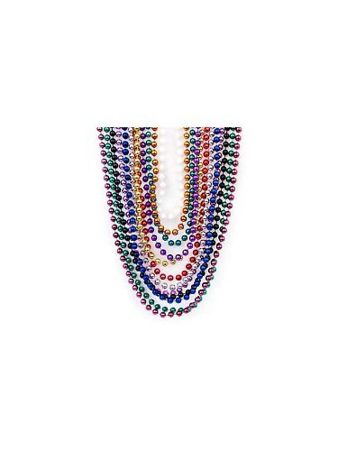 Metallic Beaded Necklaces Fun Express