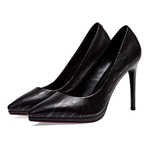 Polyvalent Femmes Pointues pour Hauts Simple Guncolor Chaussures Confortable Talons ZPEDY Mode x0TwZAqE