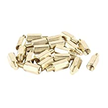 20 Pcs PC PCB Motherboard Brass Standoff Hexagonal Spacer M3 9+4mm