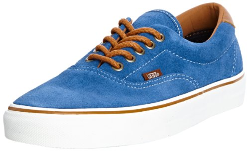 Vans Unisex Adults' U ERA 59 (SUEDE) DARK BL Low Blue - Blau ((Suede) Dark Bl)