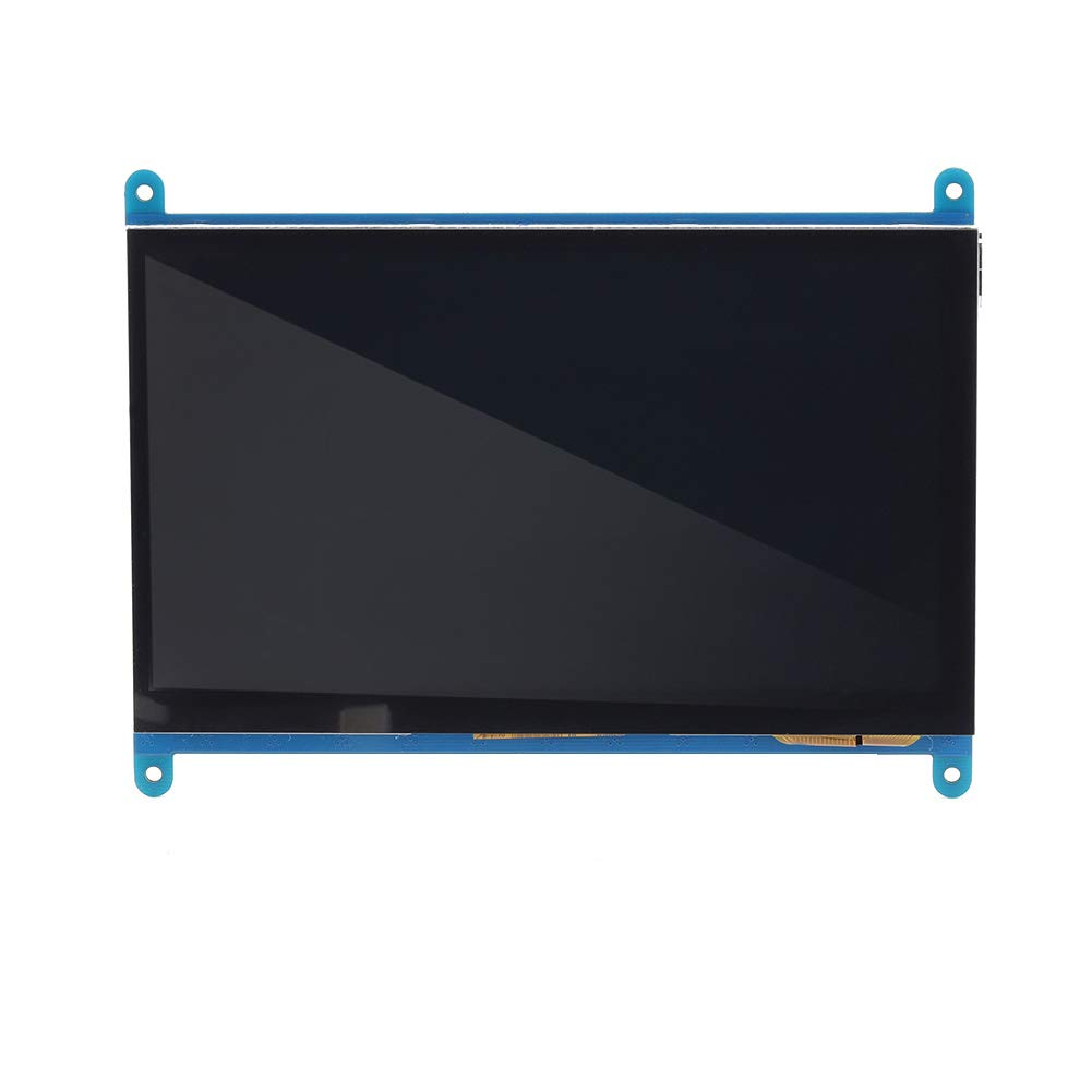 Akozon 1pc 7-Inch 800x480 LCD Display Monitor HDMI Module with Capacitive Touchscreen for Raspberry Pi 3/2/1