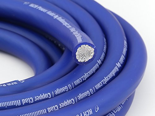 KnuKonceptz KCA Kable 0 Gauge Power Wire Blue (sold in 5' increments)