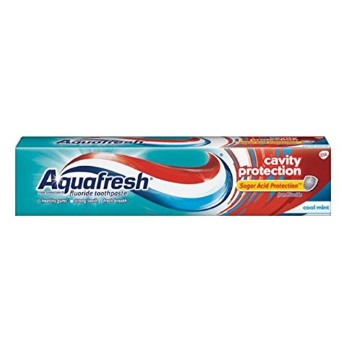 Aquafresh Cavity Protection Toothpaste – 5.6. Ounces (Value Pack of 3)