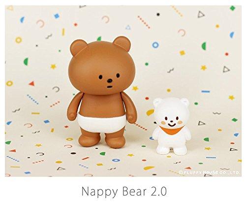Fluffy House - Nappy Bear 2.0 Designer Vinyl Toy Figure By Fluffy House