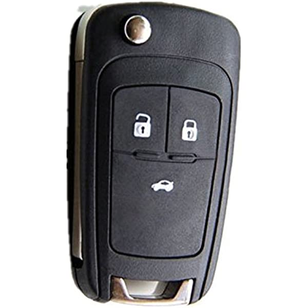 Amazon Com Replacement Smart Remote Key Shell Case For Chevrolet