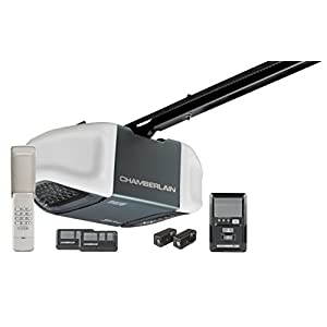 Chamberlain B730/WD962 Garage Door Opener Ultra-Quiet Belt Drive, 3/4 HPS with Battery Backup