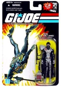 G.I. JOE Hasbro 25th Anniversary 3 3/4 Wave 6 Action Figure Lt. Torpedo SEAL ()