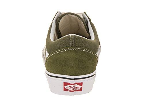 Vans Old Skool, Zapatillas de Entrenamiento Unisex Adulto Verde (Winter Moss/true White)