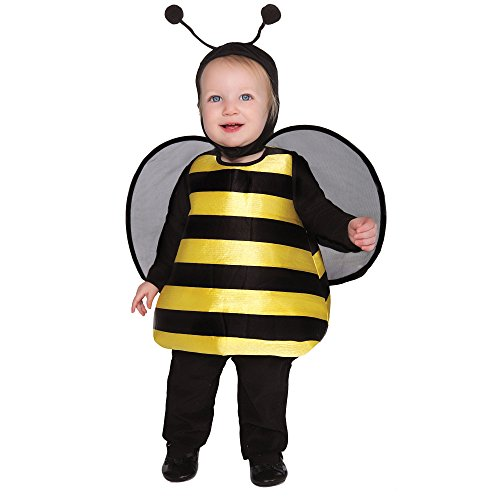 Baby Bumble Bee Halloween Costume, Size 1-2T (Infant Bumble Bee Costume)