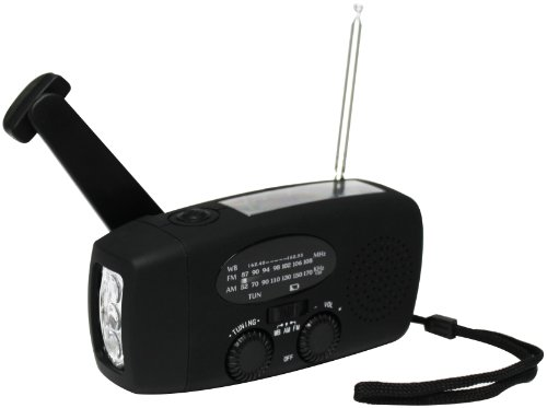 Metro Fulfillment House HY-088WB-Black Weather Radio-Compact