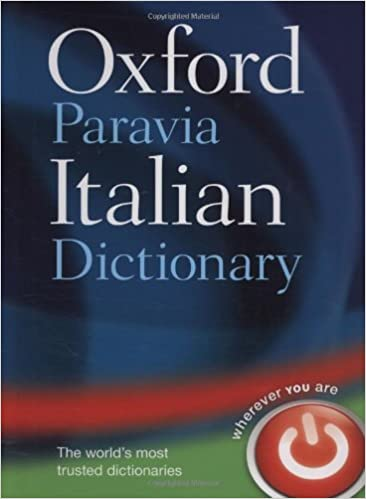 Amazon com: Oxford-Paravia Italian Dictionary / Oxford-Paravia Il