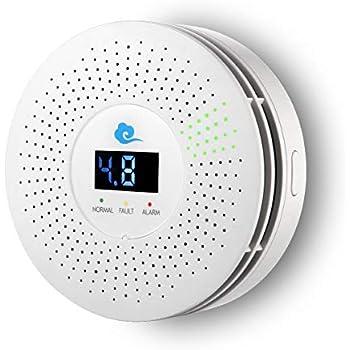 Funtin Home Natural Gas Detector, LPG/Propane Combustible Gas Leak Alarm (FTH-KBF1)