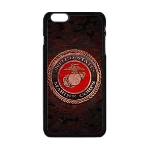"""Generic Custom Extraordinary Best Design USMC(US Marine Corps) Symbol Series Plastic Case Cover for iPhone6 Plus 5.5"""""""