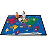Geography World Explorer Kids Rug Rug Size: 5'10'' x 8'4''