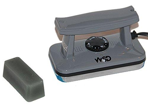 WSD Ski and Snowboard Wax Iron ski Tune Up Waxing Iron with Bonus 50 Gram Wax New (Cool Gray)