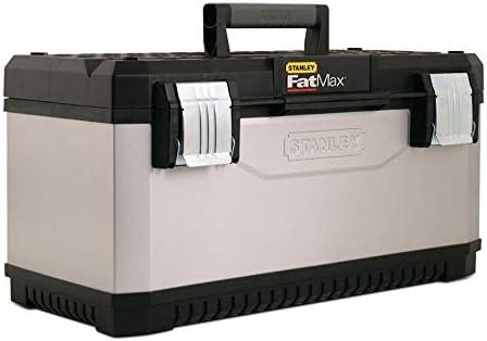 STANLEY FATMAX 1-95-615 - Caja de herramientas metálica FatMax, 50 x 31 x 30 cm: Amazon.es: Bricolaje y herramientas