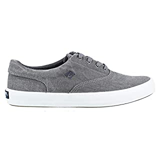 Sperry Men's Wahoo CVO Fashion Sneaker, Grey, 10 M US