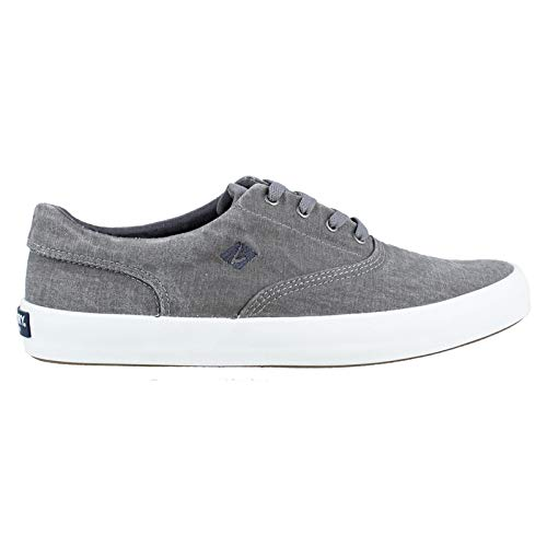 SPERRY Men's Wahoo CVO Fashion Sneaker, Grey, 12 M US