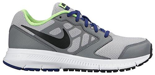 Nike Downshifter 6 (GS/PS) - Zapatillas para niño, multicolor Gris / Negro (Wolf Grey / Black-Dp Ryl Bl-Wht)