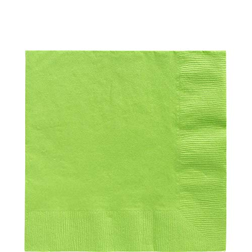 (Kiwi Green Luncheon Paper Napkins Big Party Pack, 125 Ct.)