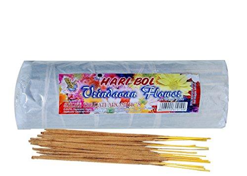 Sri Hari Bol Incense Sticks Divine Vrindavan Flower or Tulsi Agarbatti (Contain 200 incense Stick in each Packet) by Hari Bol Vrindavan Flower