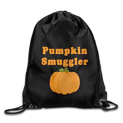 Pumpkin Smuggler Halloween Drawstring Tote Backpack Bag (2)