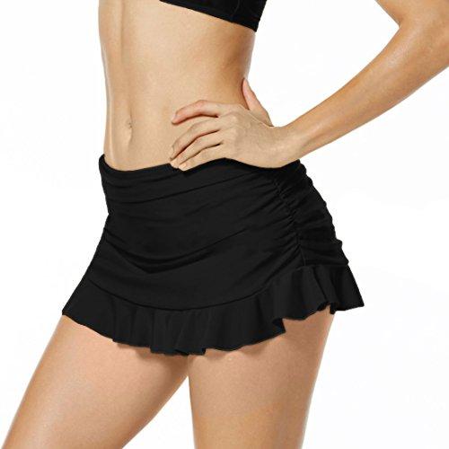 Bikini Nuoto Nero Minigonna Per Dress Inlefen Donna Il Gonna Beach 0qxwdO