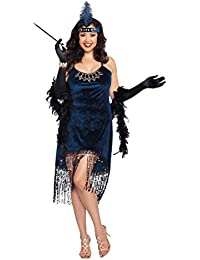 Women's Plus-Size Downtown Doll Costume