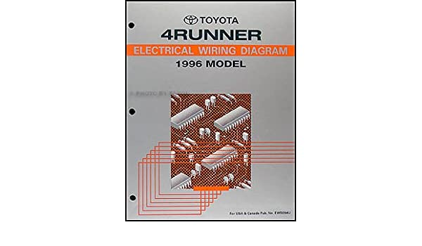 1996 toyota 4runner wiring diagram manual original: toyota: amazon com:  books